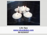 Lilin/tealight/aromaterapi/salon/spa/alat salon