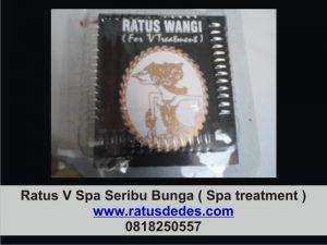 Ratus V Spa Seribu Bunga ( Ratus V Spa treatment )