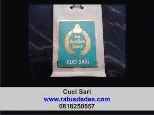 produk - cuci sari